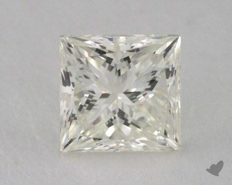 0.90 Carat K-VVS2 Very Good Cut Princess Diamond