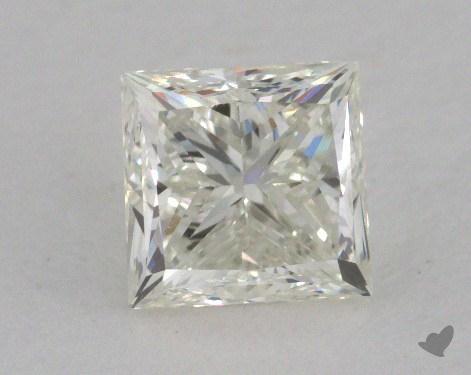 0.97 Carat K-VVS1 Very Good Cut Princess Diamond