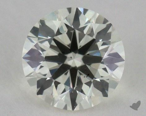 1.50 Carat K-VS2 Very Good Cut Round Diamond
