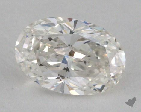 0.55 Carat E-SI1 Oval Cut Diamond