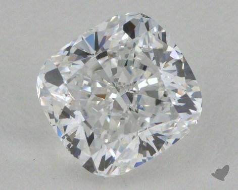 1.40 Carat D-VVS2 Cushion Cut Diamond