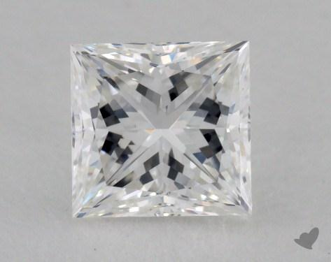 1.01 Carat G-VS2 Very Good Cut Princess Diamond