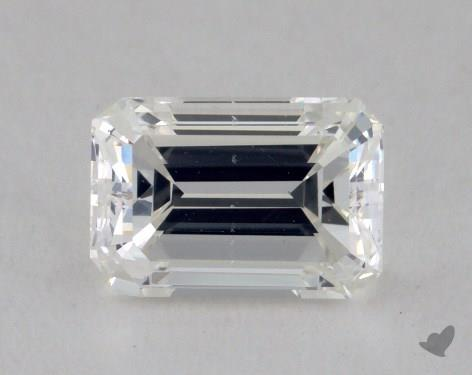 0.90 Carat H-VS2 Emerald Cut Diamond