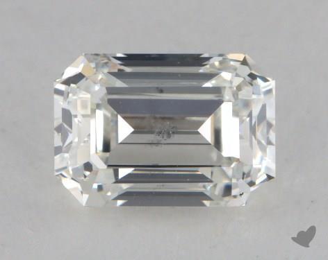 1.37 Carat H-SI2 Emerald Cut Diamond