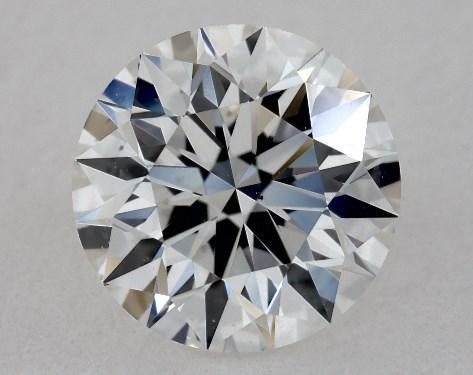 1.30 Carat F-VS2 Very Good Cut Round Diamond