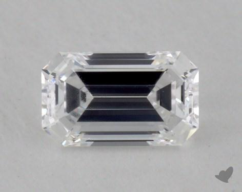 0.40 Carat D-IF Emerald Cut  Diamond