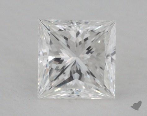 1.00 Carat F-VS1 Ideal Cut Princess Diamond