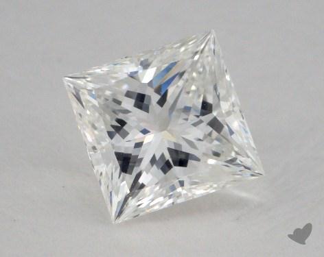 1.04 Carat F-VS1 Ideal Cut Princess Diamond