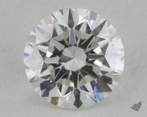0.71 Carat G-SI1 Ideal Cut Round Diamond