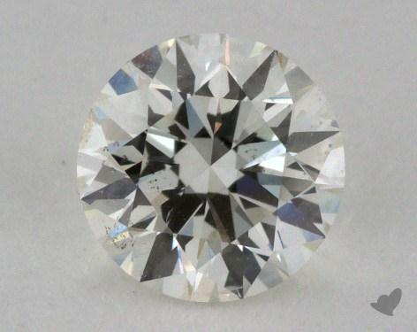 0.81 Carat I-SI1 Excellent Cut Round Diamond