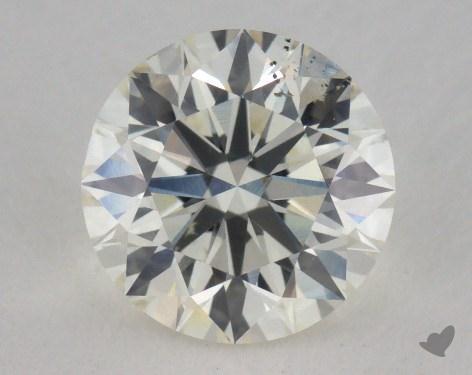 1.06 Carat J-SI1 Excellent Cut Round Diamond