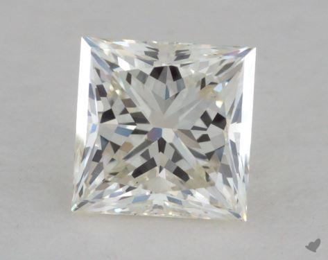 1.05 Carat J-VS2 Very Good Cut Princess Diamond