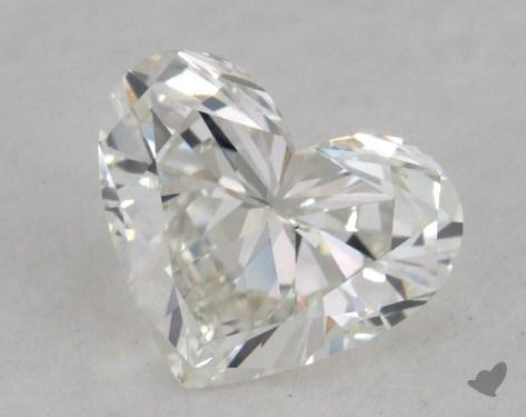 0.81 Carat G-VS1 Heart Shaped  Diamond