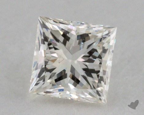 0.50 Carat K-VS2 Very Good Cut Princess Diamond