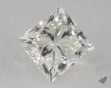 0.98 Carat K-VVS2 Very Good Cut Princess Diamond