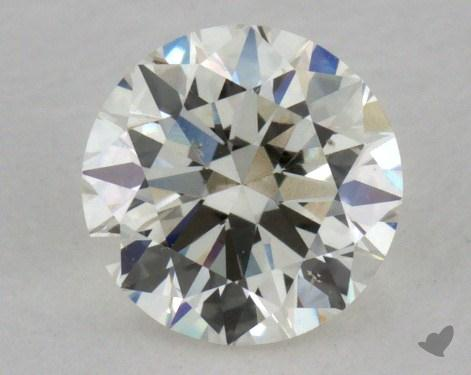 0.50 Carat J-SI1 Good Cut Round Diamond
