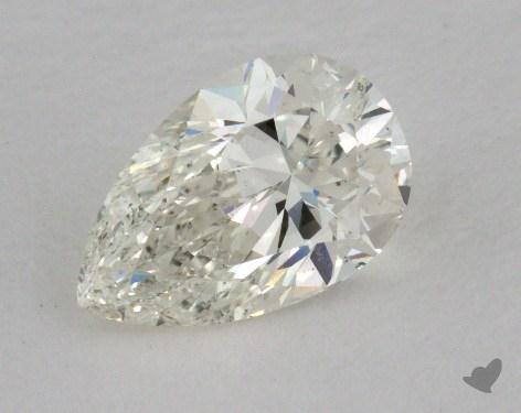 0.85 Carat J-SI1 Pear Shape Diamond