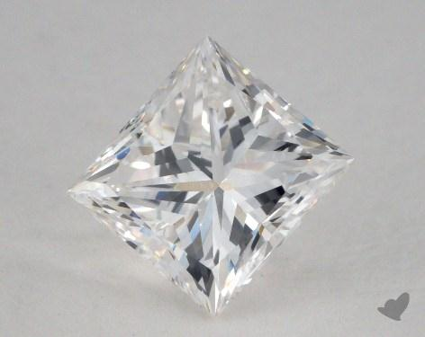 1.62 Carat F-SI1 Very Good Cut Princess Diamond