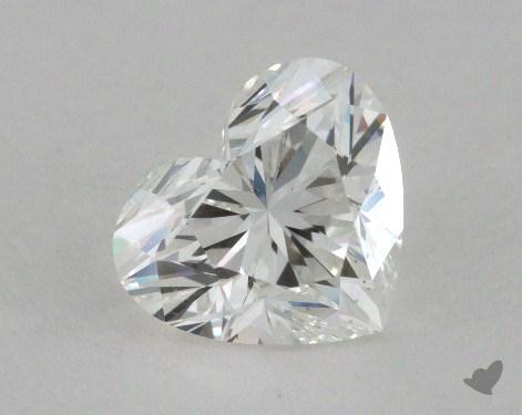 1.01 Carat G-VS2 Heart Shape Diamond