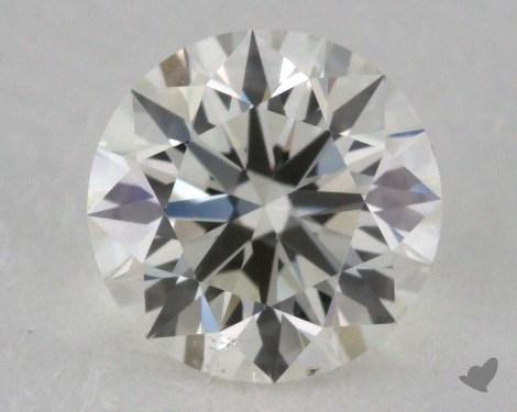 0.90 Carat I-VS2 Ideal Cut Round Diamond