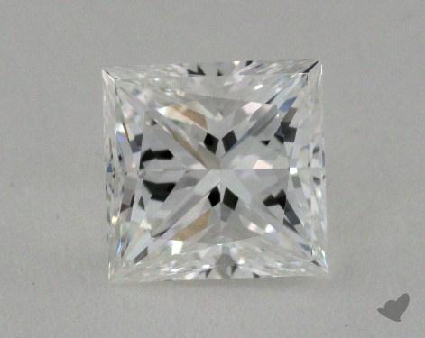 1.01 Carat D-VS1 Very Good Cut Princess Diamond