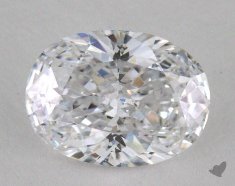 1.62 Carat D-VS2 Oval Cut  Diamond