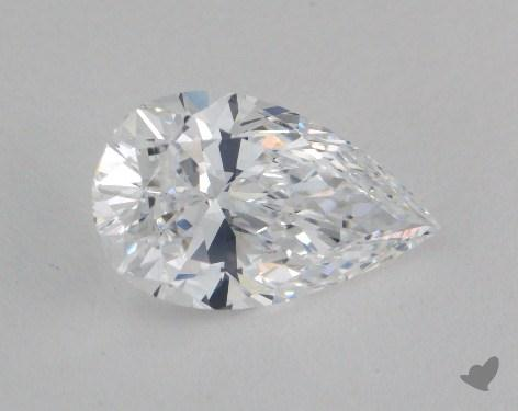 1.70 Carat D-IF Pear Cut Diamond