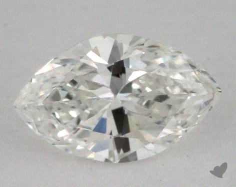 0.69 Carat H-SI1 Marquise Cut Diamond