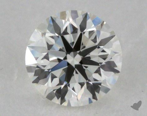 0.32 Carat H-VS1 Very Good Cut Round Diamond