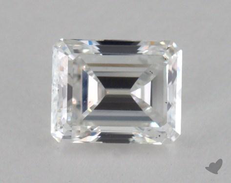 1.03 Carat F-SI2 Emerald Cut Diamond