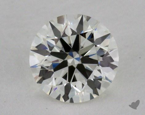 0.76 Carat I-VVS2 Excellent Cut Round Diamond