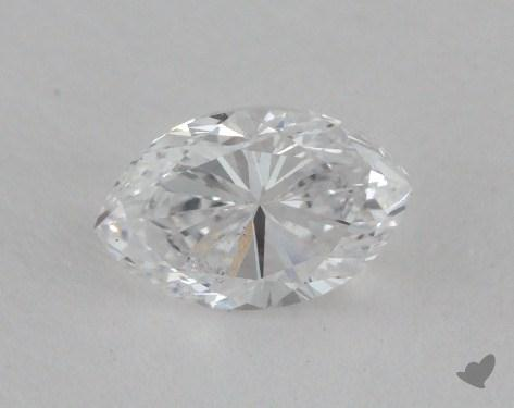 0.54 Carat D-SI2 Marquise Cut Diamond