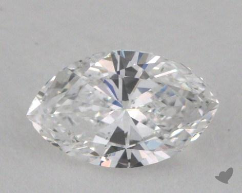 0.55 Carat D-SI2 Marquise Cut Diamond