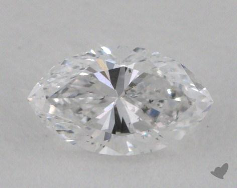 0.59 Carat D-SI2 Marquise Cut Diamond