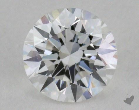 0.70 Carat F-VVS1 Excellent Cut Round Diamond