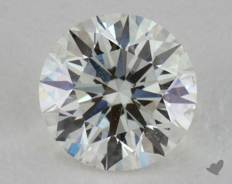 0.90 Carat I-SI1 Excellent Cut Round Diamond