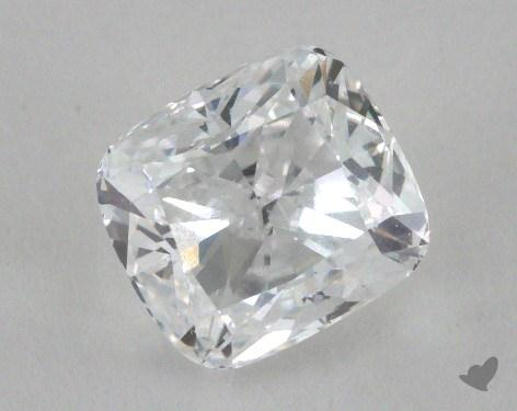1.50 Carat D-SI1 Cushion Cut Diamond