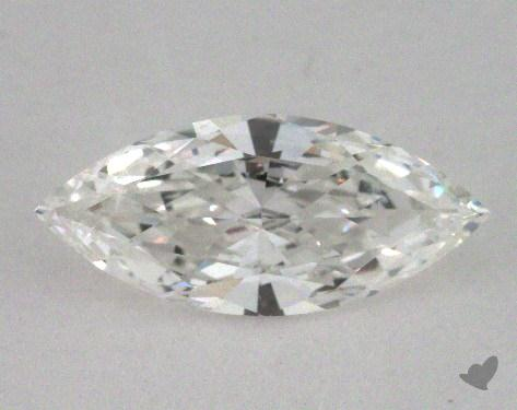 0.72 Carat F-SI1 Marquise Cut Diamond