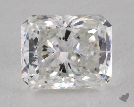 1.00 Carat E-VVS2 Radiant Cut Diamond