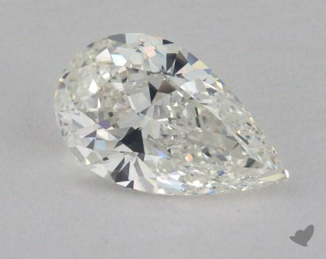 2.02 Carat H-VS1 Pear Shape Diamond