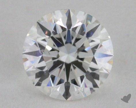 1.21 Carat F-SI1 Excellent Cut Round Diamond
