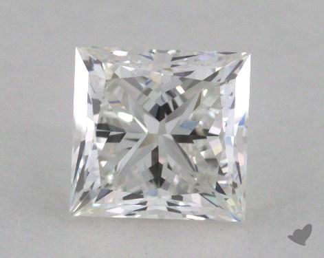 0.90 Carat F-VS1 Ideal Cut Princess Diamond