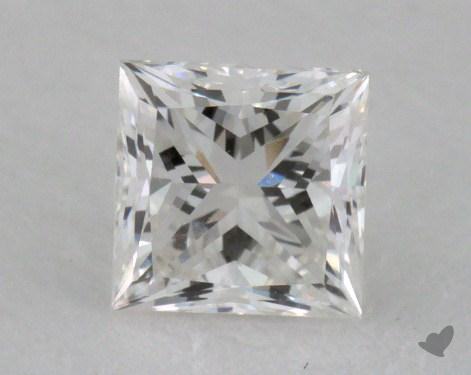 0.50 Carat G-SI1 Princess Cut Diamond