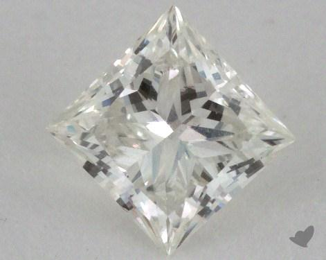 0.54 Carat I-SI2 Very Good Cut Princess Diamond