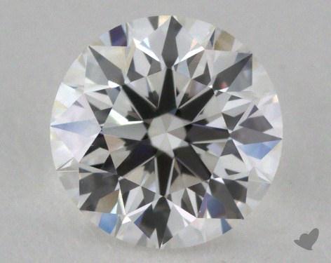 0.73 Carat F-VS1 Excellent Cut Round Diamond