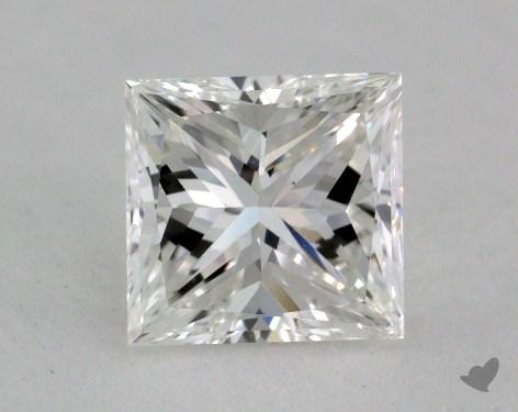0.92 Carat F-VS1 Very Good Cut Princess Diamond