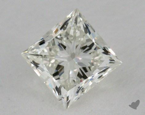 0.91 Carat J-SI2 Ideal Cut Princess Diamond