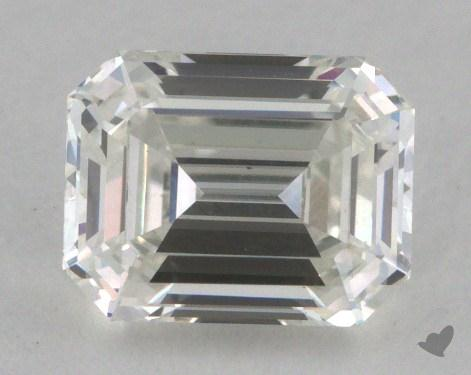 1.08 Carat H-VS1 Emerald Cut  Diamond