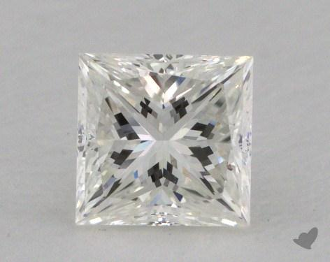 0.80 Carat H-VS1 Very Good Cut Princess Diamond
