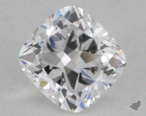 0.51 Carat D-I1 Cushion Cut  Diamond